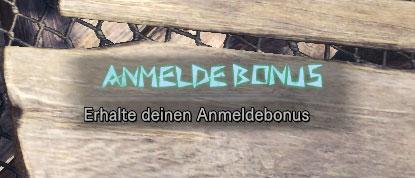 Anmeldebonus