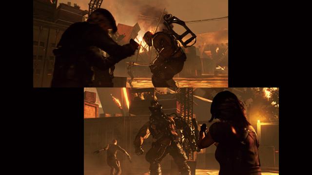 скачать бесплатно игру на компьютер Resident Evil 6 через торрент - фото 6