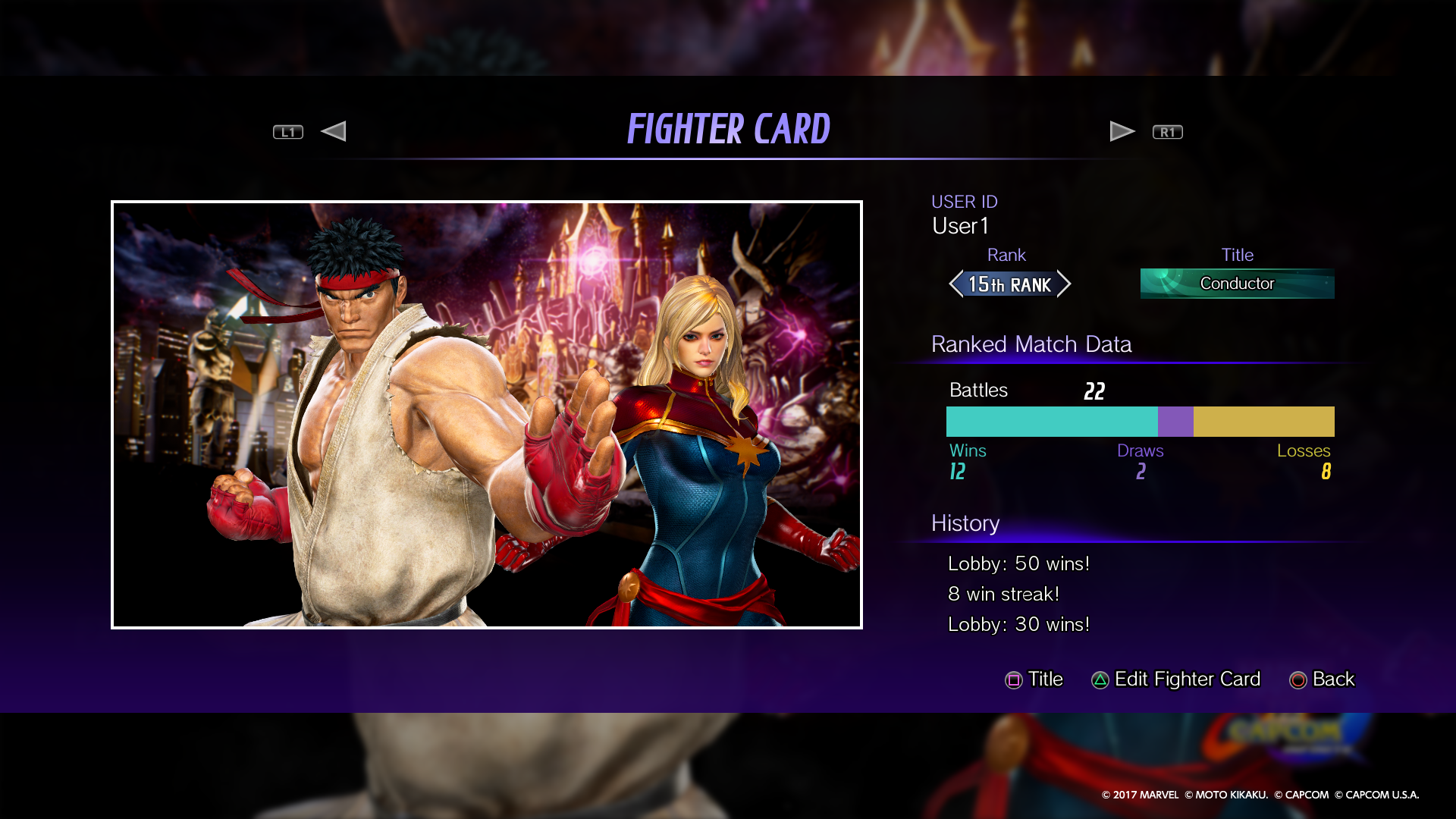 MARVEL VS  CAPCOM: INFINITE Official Web Manual | Settings