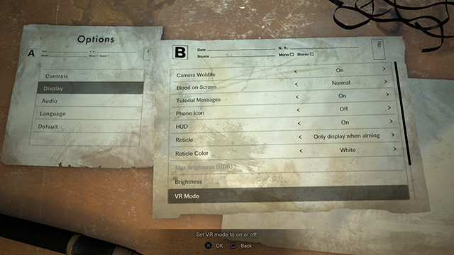 Resident Evil 7 Official Web Manual