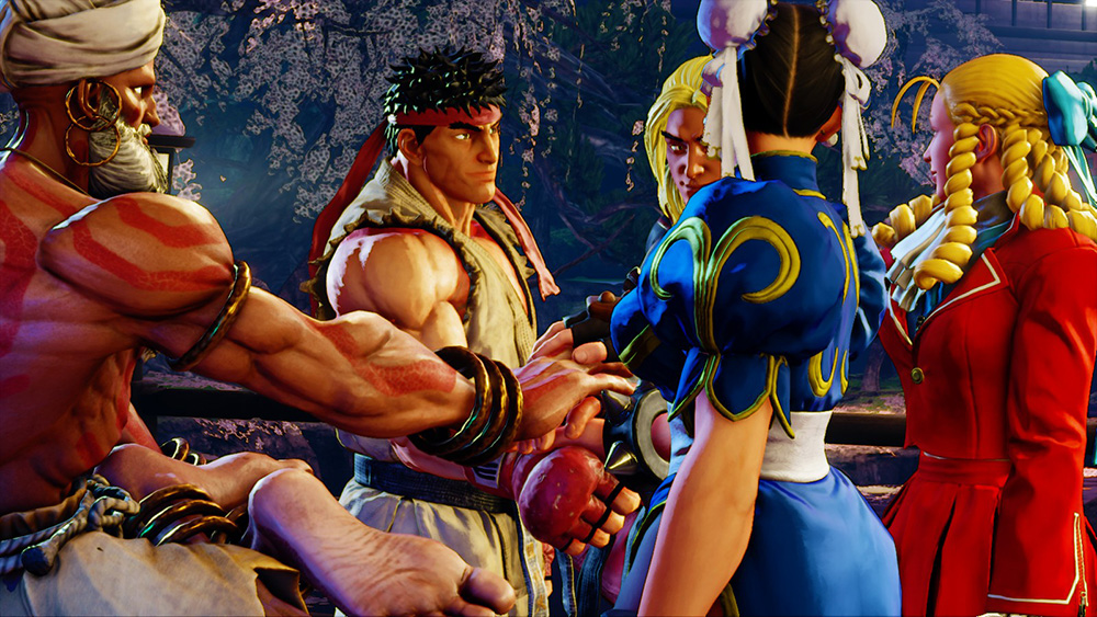 STREET FIGHTER V ARCADE EDITION Official Online Manual