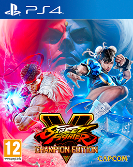 STREET FIGHTER V ARCADE EDITION box