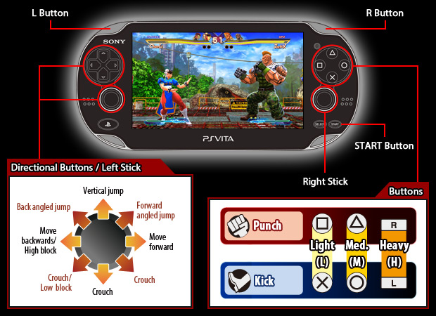 Capcom Street Fighter X Tekken Official Web Manual