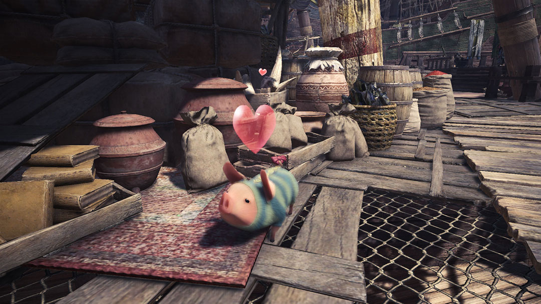 MONSTER HUNTER: WORLD Official Web Manual | Poogie