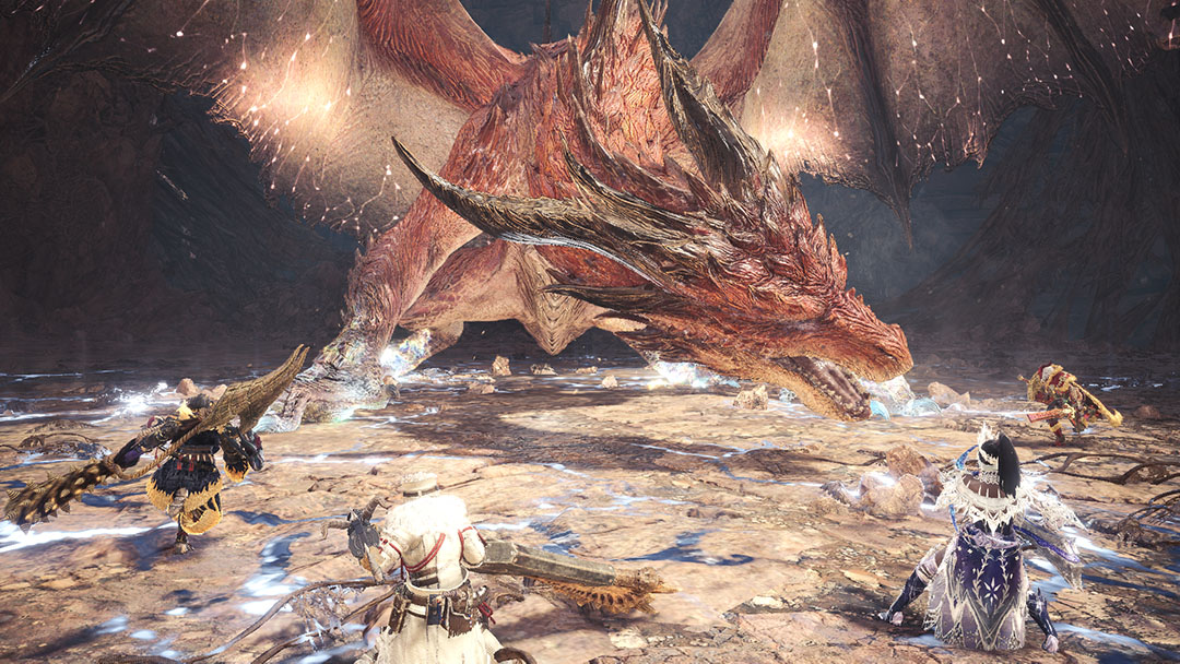 Monster Hunter World Iceborne Official Web Manual Safi Jiiva Siege