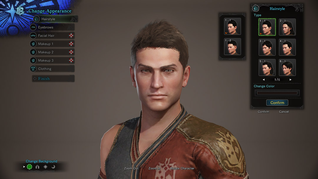 Monster Hunter World Iceborne Official Web Manual Changing Your Hair And Appearance