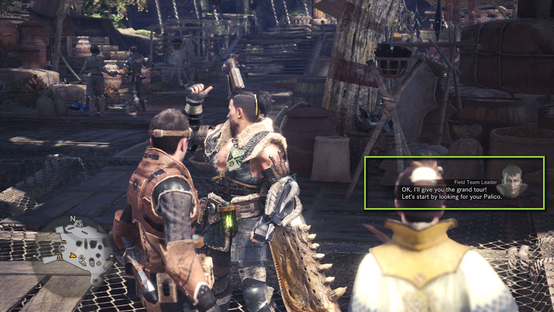 MONSTER HUNTER: WORLD Official Web Manual   The Game Screen