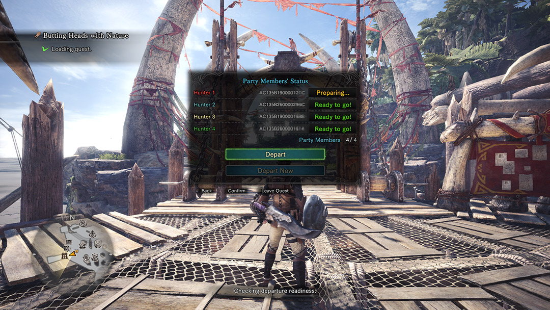 MONSTER HUNTER: WORLD Official Web Manual | Multiplayer Quests