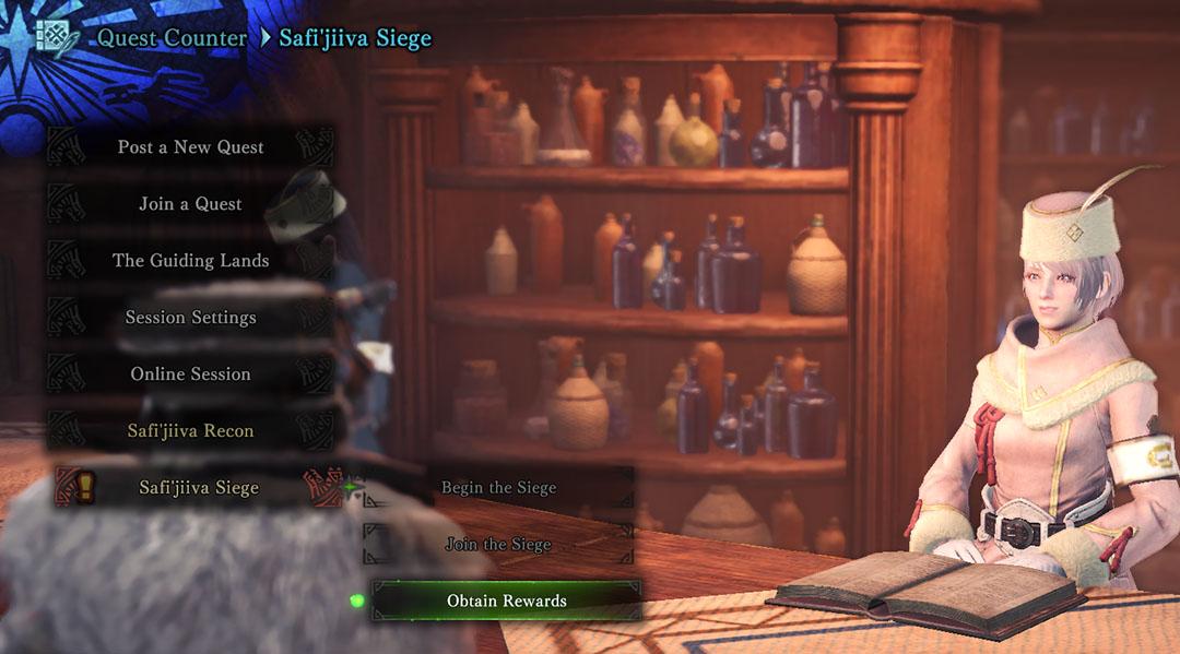 Monster Hunter World Iceborne Official Web Manual Safi Jiiva Siege