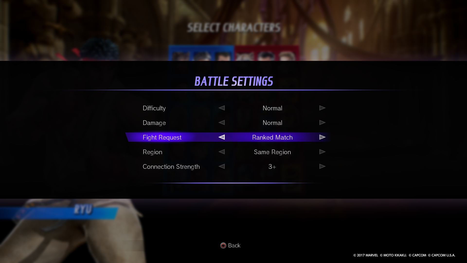 Marvel Vs Capcom Infinite Official Web Manual Online Mode Ps4 Reg 3 During Arcade Or Training You Can Enable Fight Request To Accept Connections Other Users For Battles Settings Be Found In